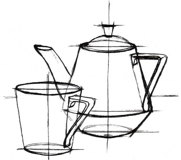 Построение в рисунке для чайников